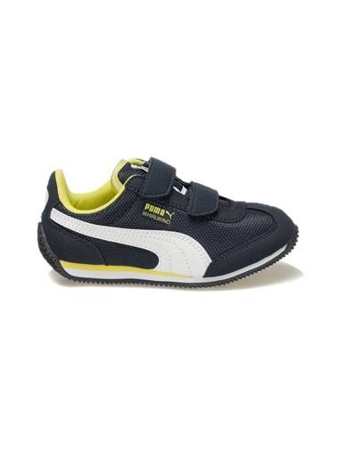 Puma Spor Ayakkabı Lacivert